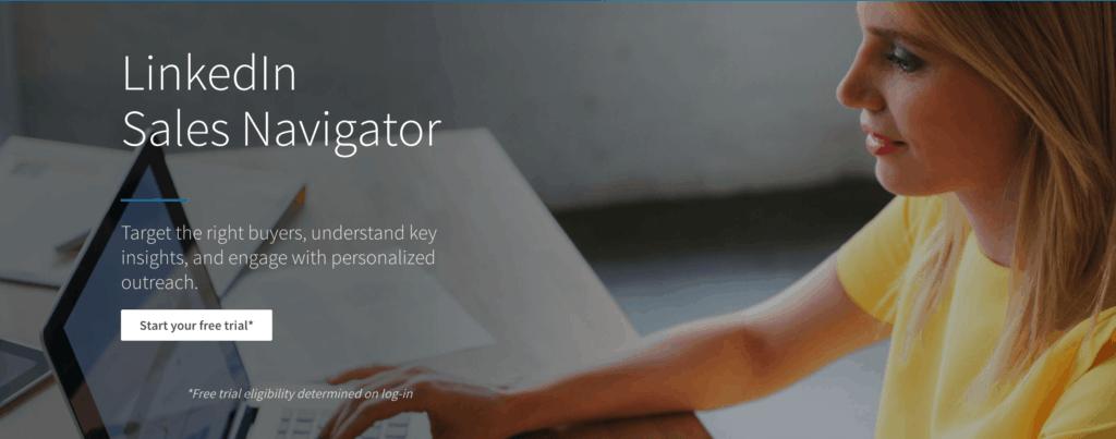Linkedin sale navigator