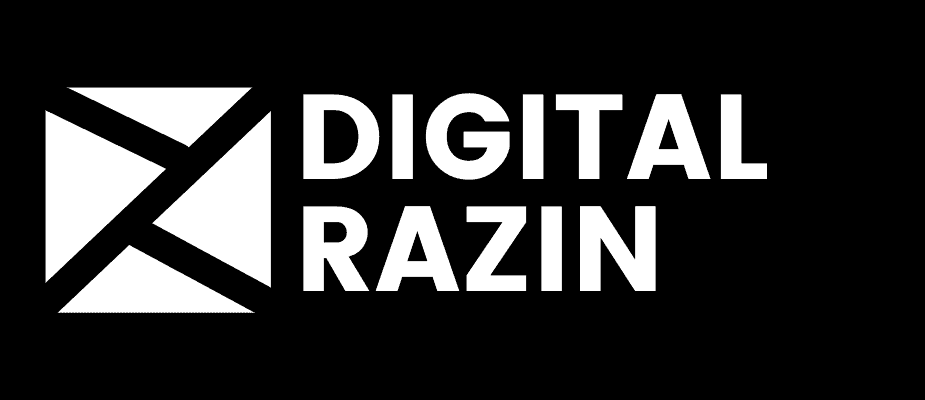 Digital Razin Logo Black